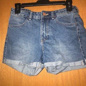 Size 4 mom style shorts